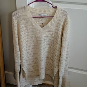 Knox Rose Cream Knitted Sweater